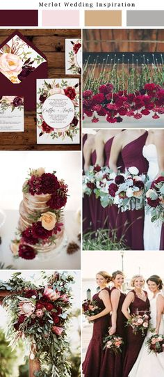 Merlot wedding inspiration marsala gold wedding burgundy wedding wedding ideas. Paper from Unica Forma
