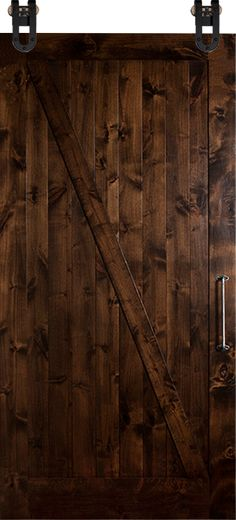Enhance any barn door-whether rustic or ultra-modern-by adding a unique handle or repurposing a gate or drawer pull.