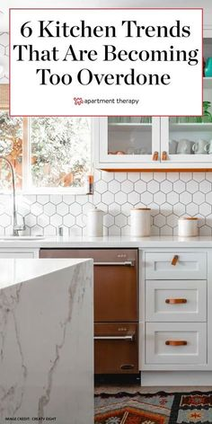 Watching out for overdone kitchen trends can help sellers avoid the tired trend trap. Here, real estate experts weigh in on popular styles that buyers are over.  #kitchens #kitchenideas #kitchentrends #kitchendecor #kitchenremodel #kitchenmakeover #kitchenrenovation #designtrends Cozy Kitchen, Rustic Kitchen, Kitchen Decor, Laundry Room Inspiration, Kitchen Trends, Kitchen Ideas, Open Cabinets, Modern Light Fixtures, Cozy Place