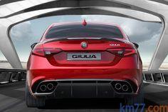 Alfa Romeo Giulia Turismo Exterior Posterior 4 puertas
