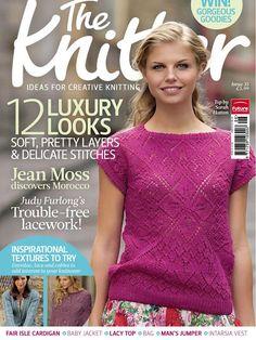 REVISTAS DE MANUALIDADES GRATIS: The Knitter 35 - revista de tejido a dos agujas