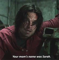 Tell us more, Bucky! What was his dad's name? What's Steve's favourite colour? What's his favourite book? Give us more information!!