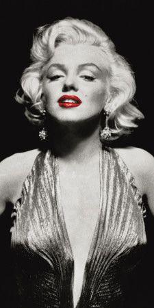 Marilyn in Evening Dress. Art print from Art.com.