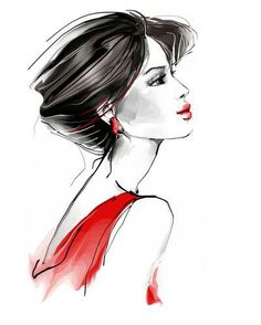 35 Ideas for fashion poster drawing Fashion Illustration Sketches, Fashion Sketches, Drawing Fashion, Poster Drawing, Woman Drawing, Face Art, Art Pictures, Art Girl, Watercolor Art