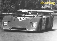 1975 2 litre sportscar Championship winner Gimax. (Team mate Alberto driving in photo)