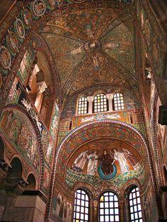 Presbyterium of San Vitale in Ravenna