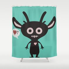 Questions of the Heart Shower Curtain