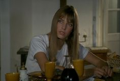 "#JaneBirkin as Pénélope in ""La Piscine"" (1969)"