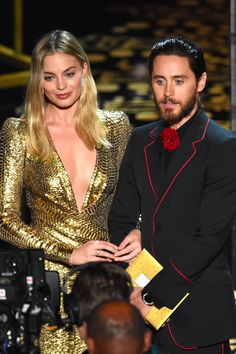 Jared Leto and Margot Robbie Almost Looked Like a Couple at the Oscars