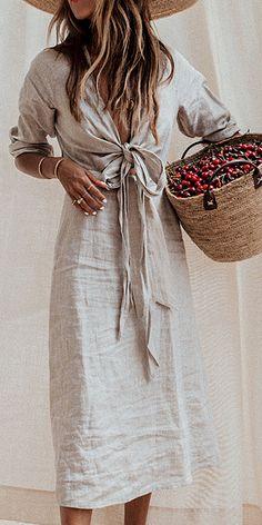 Freizeitkleidung - Anziehsachen - Best Of Women Outfits Casual Dresses For Summer, Summer Outfits, Casual Outfits, Dress Casual, Casual Clothes, Casual Summer, Women's Casual, New Trend Dress, Business Outfit Damen