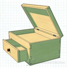 3698-Lidded Box Plans