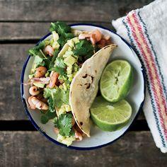 Seafood-Chorizo Tacos | Food & Wine