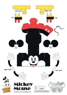 Boxes-Header Workshop: Mickey and Minnie Mouse~