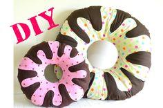 DIY Almofada Donut