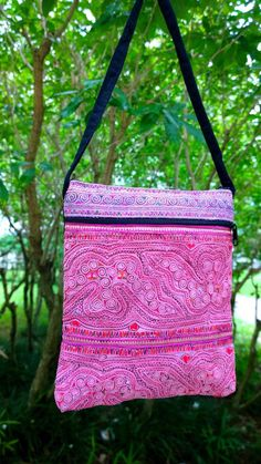 A personal favorite from my Etsy shop https://www.etsy.com/sg-en/listing/261539987/hmong-embroidery-handmade-crossbody-bag