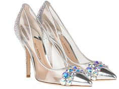 Paul Andrew Cinderella inspired glass slippers