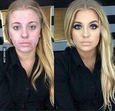 10 increibles transformaciones con maquillaje que no vas a creer! Tienes que ver esto | Belleza