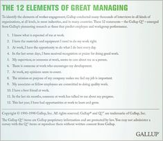 """Should Managers Focus on Performance or Engagement?  Gallup examined this question and found that the answer isn't as """"either/or"""" as many companies might think  by Annamarie Mann and Ryan Darby"""