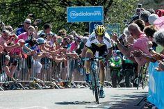 Wielrenner Maarten Tjallingii, geboren in Arnhem , schitterde tijdens de Giro.
