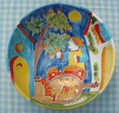 """Schaal """"Ciotola"""" 25 cm  Webshop Sicilian Ceramica  www.russoenzo.nl"""