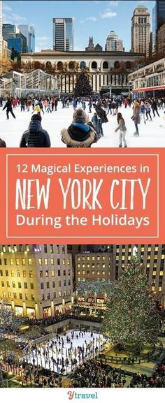 NYC Holiday Season Special Attractions. Looking for fun things to do in New York City at Christmas with kids? Epic activities such as ice skating, exploring Central Park, shopping, decorations, and other activities and things to see during the holiday season. It's the most magical time of the year and no one does the Christmas Holiday Season like New York #NewYork #NewYorkCity #NewYorkChristmas #NYC