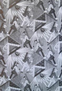 View album on Yandex. Textiles, Textile Patterns, Textile Prints, Textile Design, Fabric Design, Pattern Design, Print Patterns, Soviet Art, Art Graphique
