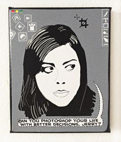 April Ludgate Art by PeachyApricot on Etsy, $35.00 #AprilLudgate