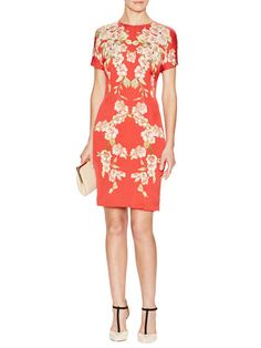 Floral Sheath Dress by Dolce