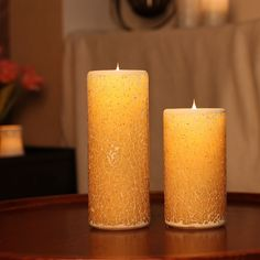 Simplux Moving Wick Flameless Mosaic LED Candle with Remote Control Champagne   eBay