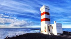 The old light house in Garður.