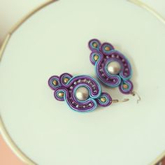 soutache earrings i made for myself