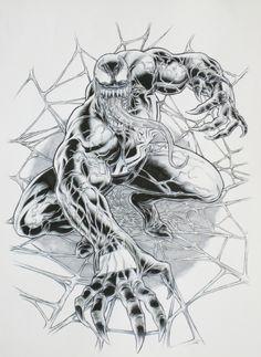 Venom by Juan Jose Ryp Comic Art