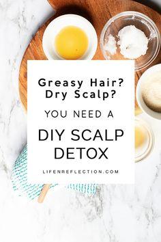 Easy Clarifying DIY Scalp Scrub and Detox
