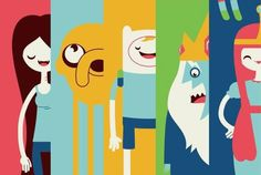 Marceline, Jake, Finn, Ice King and Princess Bubblegum | Adventure Time