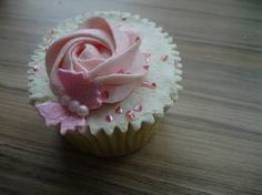 cupcake butterfly rose - Google Search
