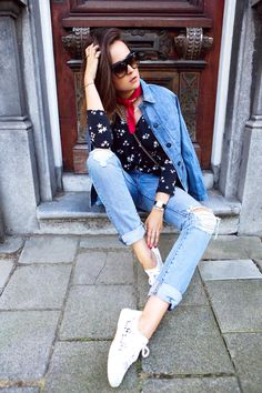 3 Ways to Style Your New Jeans for Fall | WhoWhatWear