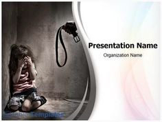 Be effective with your PowerPoint presentations by simply putting your content in our Child Abuse PowerPoint design template.