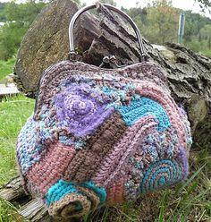 Hnedo-tyrkysová kabelka