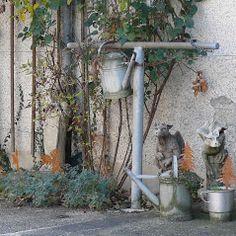 Gartendrachen von Fiona Jane Scott bei www.duftoase.ch - Cleopatra's Duft-Oase Business Help, English Artists, Sculptures