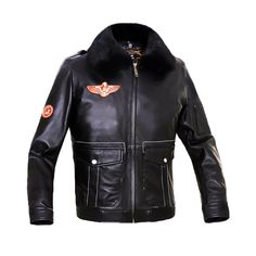 >> Click to Buy << Humiture genuine Sheepskin Leather Jacket Mens Black leather Jacket with collar9902B #Affiliate