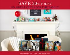 Get your holiday shopping started! Save 20% on all gifts now through 11/23. Use Code: PRESENT20  Shop Now > http://www.einvite.com/gifts/