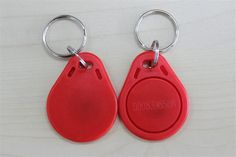 (^^Free samples^^)High Quality 50PCS RFID 125KHZ Tag Proximity Access Control Card ID Keyfob ABS Material Access Control Attendance Card C08C