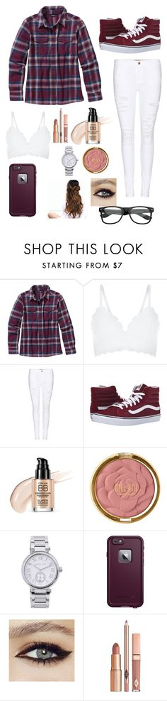 """""""Flannel fashion"""" by miamendoza6 ❤ liked on Polyvore featuring Patagonia, New Look, Frame Denim, Vans, Milani, Michael Kors, LifeProof, Dolce Vita and ZeroUV"""