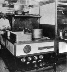 a Kitchen of the Titanic