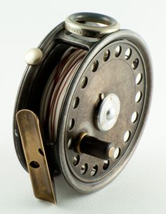 """Hardy St. George 3 3/8"""" Fly Reel"""