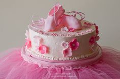 ballerina cake ideas - Google Search. Now Alice says she wants a pink cake with flowers, shoes and a tutu. What Alice wants, Alice gets!