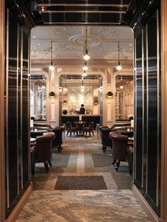 Bar Hospitality Interior Design of The Connaught Hotel London