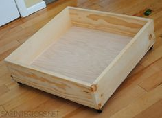 DIY Tutorial for a Rolling Underbed Wood Storage Cart! The perfect solution for holding toys & DIY Rolling Toy Storage Crates | Pinterest | Storage crates Toy ...