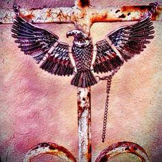 Silver eagle necklaceAdjustable