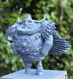 Viking #maquette by teapot monster via Tumblr★ Find more at http://www.pinterest.com/competing/